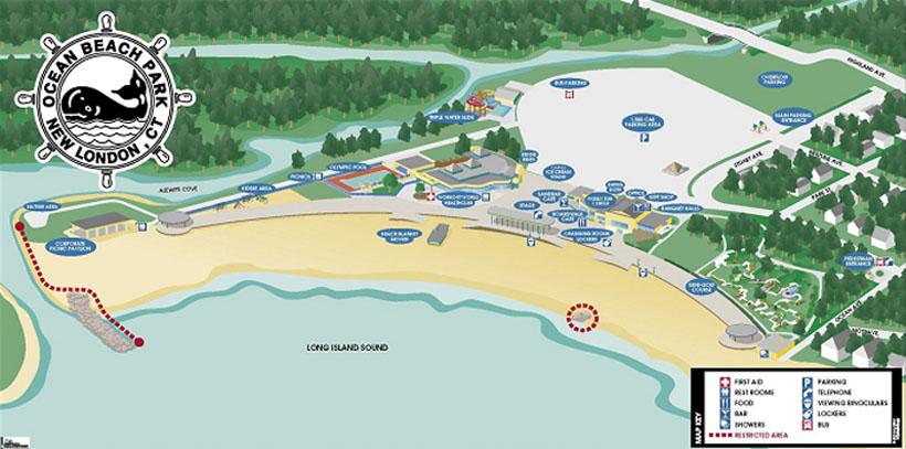 Park Map 2017 Ocean Beach